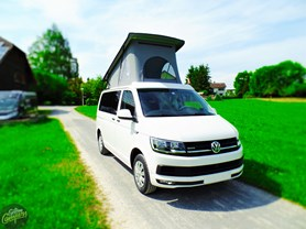"VW T6 ""Traveller"" - red-whith"