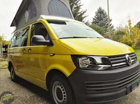 "VW T6 ""Traveller"" Yellow-Grap"