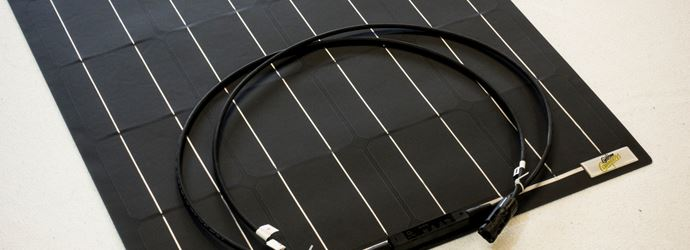 Flexibles Hochleistung- Solarpanels